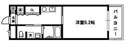 十三本町ウインズマンションII[5階]の間取り