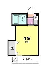 シャインシティ54[3階]の間取り