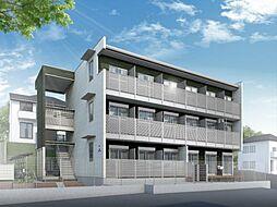 神奈川県川崎市宮前区犬蔵1丁目の賃貸アパートの外観