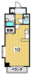 ラフォーレ聖護院[306号室]の間取り