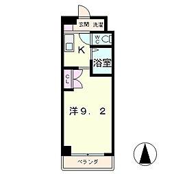 翔耀一号館[1階]の間取り