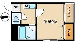 れんが館[3階]の間取り