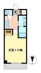 ビ・アバンス[9階]の間取り