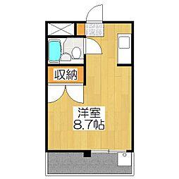 第35長栄クリーンハイツ山黄[306号室]の間取り