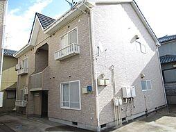 新潟県新潟市西区松海が丘1丁目の賃貸アパートの外観