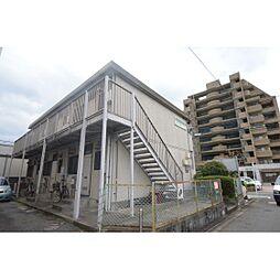 福岡県福岡市中央区西公園の賃貸アパートの外観