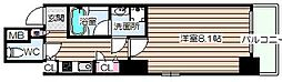 エイペックス梅田東[3階]の間取り