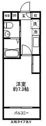 アーバンコート仙川[208号室]の間取り