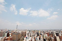 22階部分角部屋につき眺望良好。名古屋市内を一望できます。