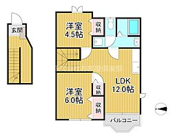 クレストール高島[2階]の間取り