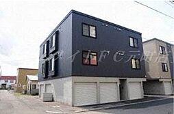 北海道札幌市西区八軒五条東3丁目の賃貸アパートの外観