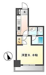 タウンライフ朝岡[8階]の間取り