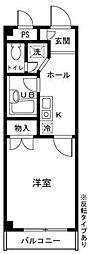 ジュネスシオン[2階]の間取り