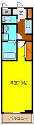ecLoreII[2階]の間取り