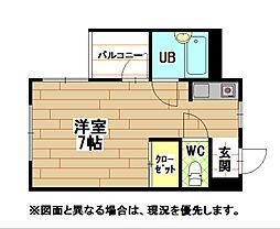Will Inosaka(ウィルイノサカ)[4階]の間取り