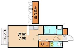コスモ渡邉I[2階]の間取り