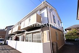東京都小金井市桜町1丁目の賃貸アパートの外観
