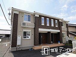 愛知県みよし市黒笹町寺山の賃貸アパートの外観
