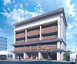 京都府京都市中京区曇華院前町の賃貸マンションの外観