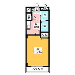 本州ビルIII[5階]の間取り