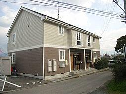 愛媛県松山市朝美2丁目の賃貸アパートの外観