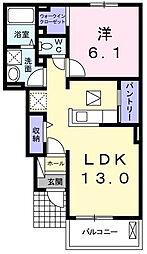 セレノ・カーサ[1階]の間取り