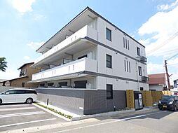 京都府京都市南区上鳥羽清井町の賃貸マンションの外観