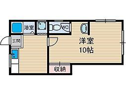 村田文化[1階]の間取り