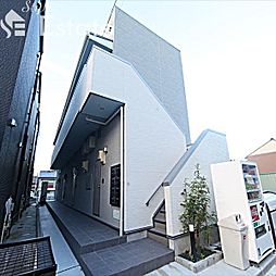 愛知県名古屋市中村区東宿町2の賃貸アパートの外観