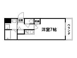 プランドールFD[1階]の間取り