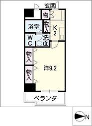 エスペランサ矢田南[2階]の間取り