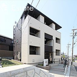 愛知県名古屋市緑区鳴海町字尾崎山の賃貸アパートの外観