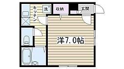 アイ・ハウス[101号室]の間取り