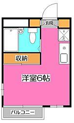 セイコー新所沢[1階]の間取り