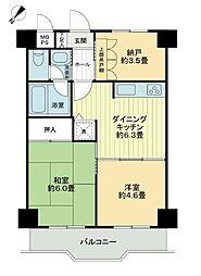 ライオンズマンション横浜第5[7階]の間取り