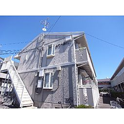 奈良県天理市田井庄町の賃貸アパートの外観