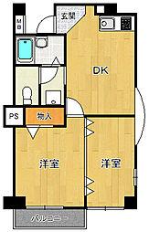 ロングライフパート3[405号室]の間取り