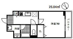 ロイスグラン神戸下沢通[8階]の間取り