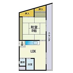 西新駅 4.5万円
