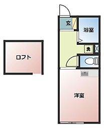 イル・ソーレ桜ヶ丘[206号室号室]の間取り