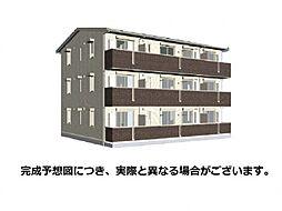 山口県下関市長府松小田中町の賃貸アパートの外観