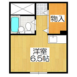 セ・モア京都[604号室]の間取り
