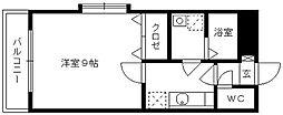 エトワール・チサ[B201号室]の間取り