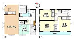 建物参考プラン、建物面積96.26?、建物価格1100万円(税込)