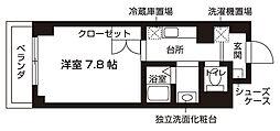 アミカーレ錦[305号室号室]の間取り