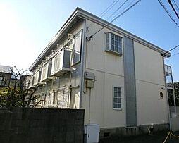 東京都中野区東中野4丁目の賃貸アパートの外観