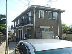 兵庫県姫路市辻井5丁目の賃貸アパートの外観