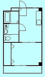 フォーレストハイツ[2階]の間取り