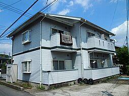 栃木県宇都宮市西川田町の賃貸アパートの外観
