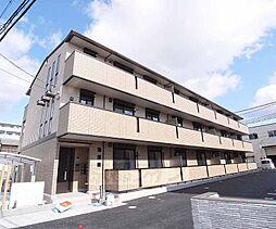 京都府京都市伏見区中島外山町の賃貸アパートの外観